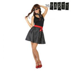 Costume per Adulti Th3 Party Anni 50 Nero XS/S
