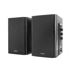 Adj PRO-SOUND SPEAKER 2.0 BLACK AC 220V/50HZ 80HZ-18KHZ 30W (RMS altavoz De 2 vías Negro Alámbrico 3,5 mm