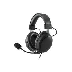 Sharkoon B1 auricular con micrófono Diadema Binaural Negro