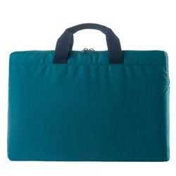 "Tucano Minilux notebook case 39.6 cm (15.6"") Sleeve case Blue"