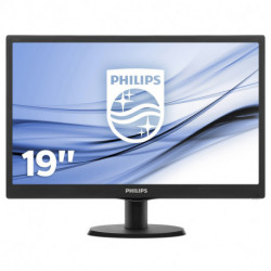 Philips V Line 193V5LSB2/01 LED display 47 cm (18.5) HD Plana Negro