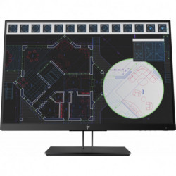HP Z24i G2 LED display 61 cm (24) WUXGA Flat Black