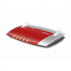 AVM FRITZ!Box 4040 International router inalámbrico Doble banda (2,4 GHz / 5 GHz) Gigabit Ethernet Rojo