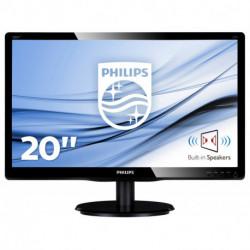 Philips V Line Moniteur LCD avec rétroéclairage LED 200V4LAB2/00