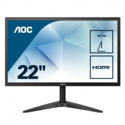 AOC Basic-line 22B1HS Computerbildschirm 54,6 cm (21.5 Zoll) 1920 x 1080 Pixel Full HD LED Flach Schwarz