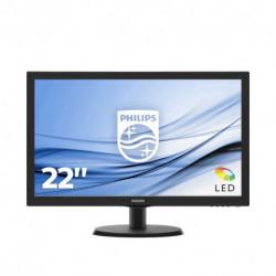 Philips V Line Monitor LCD con SmartControl Lite 243V5QHSBA/00