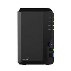 Synology DiskStation DS218+ NAS/storage server Ethernet LAN Compact Black