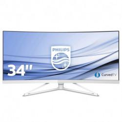 hilips X Line UltraWide LCD-Display mit gebogenem Display 349X7FJEW