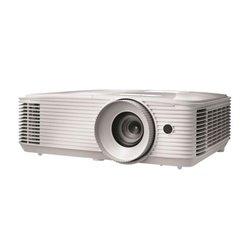 Optoma EH334 Beamer 3600 ANSI Lumen DLP 1080p (1920x1080) 3D Desktop-Projektor Weiß