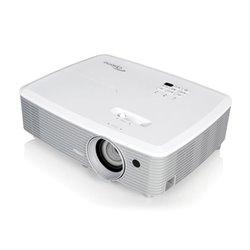 Optoma EH400 Beamer 4000 ANSI Lumen DLP 1080p (1920x1080) 3D Tragbarer Projektor Grau