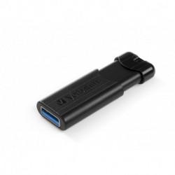 Verbatim PinStripe unidad flash USB 16 GB USB tipo A 3.0 (3.1 Gen 1) Negro 49316