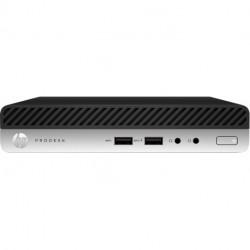 HP ProDesk 400 G4 Intel® Core™ i5 der achten Generation i5-8500T 16 GB DDR4-SDRAM 512 GB SSD Schwarz, Silber Mini PC Mini-PC