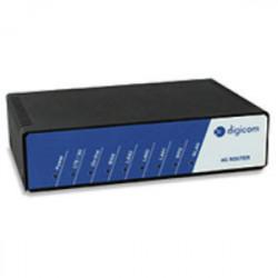 Digicom 8D5858 routeur sans fil Monobande (2,4 GHz) Fast Ethernet 3G 4G Noir, Bleu