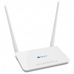 Digicom REW4GW30-T04 router inalámbrico Doble banda (2,4 GHz / 5 GHz) Ethernet rápido 3G 4G Blanco