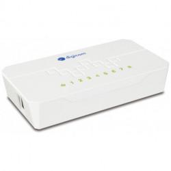 Digicom SWF08-T02 Fast Ethernet (10/100) Blanc