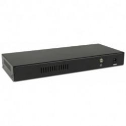 Digicom SWG08-POE Géré Fast Ethernet (10/100) Connexion Ethernet, supportant l'alimentation via ce port (PoE)