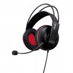 ASUS Cerberus auricular con micrófono Diadema Binaural Negro, Rojo