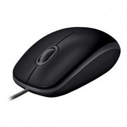 Logitech B110 ratón USB Óptico 1000 DPI Ambidextro 910-005508