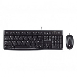 Logitech MK120 teclado USB QWERTY Italiano Negro