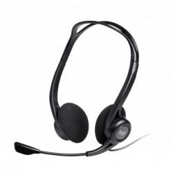 Logitech 960 USB auricular con micrófono Diadema Binaural Negro 981-000100