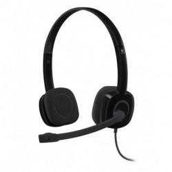 Logitech H151 Casque audio Bandeau Binaural Noir