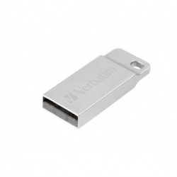 Verbatim Metal Executive USB flash drive 16 GB USB Type-A 2.0 Silver 98748