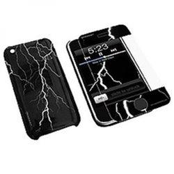 Konnet HardJAC Graffito mobile phone case Cover Black