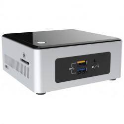 Intel NUC BOXNUC5CPYH PC/workstation barebone N3050 1.6 GHz UCFF Black,Silver BGA 1170