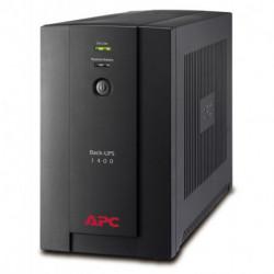 APC Back-UPS uninterruptible power supply (UPS) Line-Interactive 1400 VA 700 W