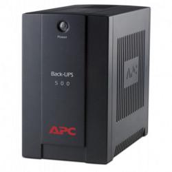 APC Back-UPS Unterbrechungsfreie Stromversorgung (UPS) Line-Interaktiv 500 VA 300 W 3 AC-Ausgänge