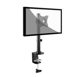 Link Accessori LKBR05 Flachbildschirm-Tischhalterung 68,6 cm (27 Zoll) Klemme Schwarz