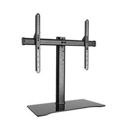 """Link Accessori LKBR27 socle d'écrans plats 139,7 cm (55"""") Pupitre à roulettes pour panneau plat Noir"""