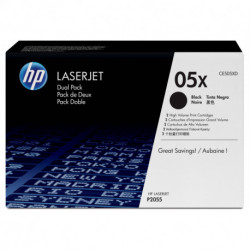 HP 05X Original Black 2 pc(s)