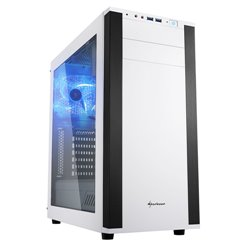 Sharkoon M25-W Midi-Tower White