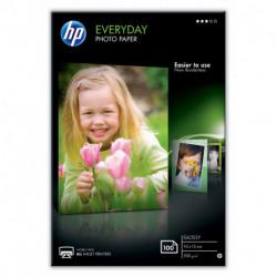 HP Everyday papel fotográfico Blanco Brillo