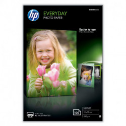 HP Everyday papier photos Blanc Gloss