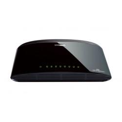 D-Link DES-1008D Unmanaged Fast Ethernet (10/100) Black