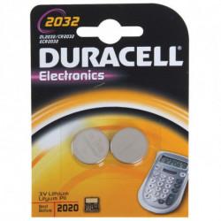 Duracell DL2032B2 pila doméstica Batería de un solo uso Litio