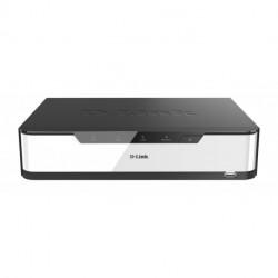 D-Link DNR-2020-04P Grabadore de vídeo en red (NVR) Negro, Blanco