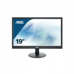 AOC Basic-line E970SWN LED display 47 cm (18.5) 1366 x 768 Pixeles WXGA LCD Plana Mate Negro