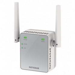 Netgear EX2700-100PES prolongateur réseau Répéteur réseau Blanc