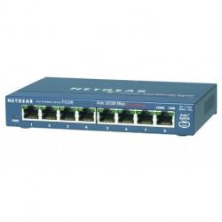Netgear FS108-300PES network switch Unmanaged L2 Fast Ethernet (10/100) Blue