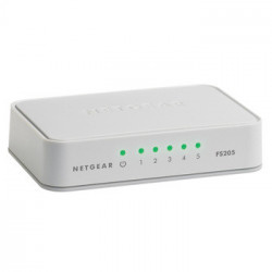 Netgear FS205 Unmanaged White