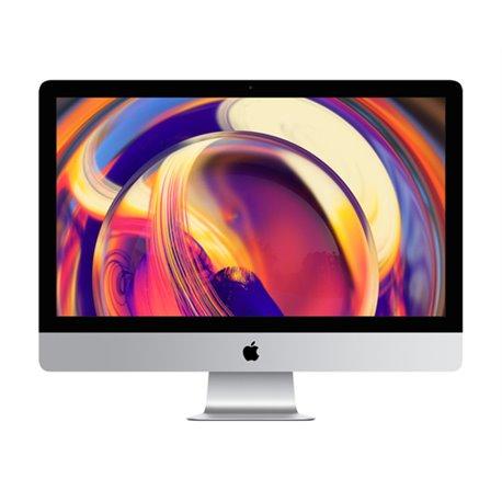 """Apple iMac 68.6 cm (27"""") 5120 x 2880 pixels 8th gen Intel® Core™ i5 8 GB DDR4-SDRAM 1000 GB Fusion Drive Silver All-in- MRR02T/A"""