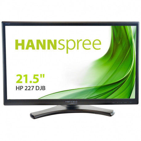 Hannspree Hanns.G HP227DJB LED display 54.6 cm (21.5) Full HD Matt Black