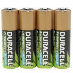 Duracell StayCharged AAA 4 Pack Batterie rechargeable Hybrides nickel-métal (NiMH)
