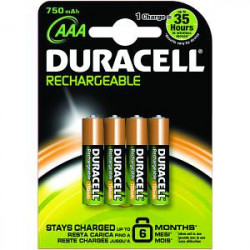 Duracell HR3-B household battery Rechargeable battery Nickel-Metal Hydride (NiMH)