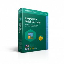 Kaspersky Lab Total Security 2019 Licencia completa 3 licencia(s) 1 año(s) Italiano
