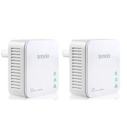 Tenda P200 Twin Pack 200 Mbit/s Eingebauter Ethernet-Anschluss Weiß 2 Stück(e)