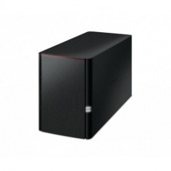 Buffalo LinkStation 220, 4TB Ethernet LAN Black NAS